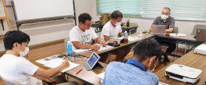 真鶴岩カキ養殖プロジェクトの試験養殖