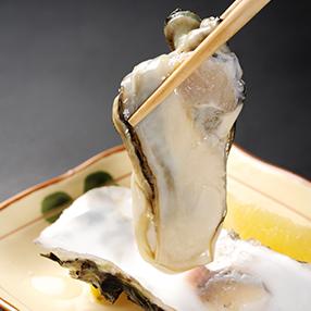 鶴宝の美味しい食べ方「生カキ」